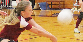 Volleyball: Baker Sweeps Northview (With Photo Gallery)