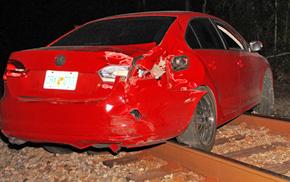 Train Hits Vehicle In Bogia