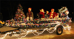 Register Now For Century's Land To Lake Lighted Boat Christmas Parade