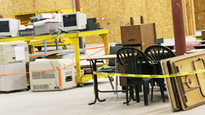 Century Holds Surplus Auction To Prep Building For Hopeful Future Tenant