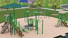 Century: New Showalter Park Playground On The Way, Plans For Splash Pad