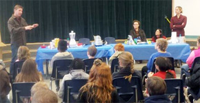 Just Nuts: Bratt Elementary Students Learn About Peanuts, Nutrition