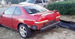 No Serious Injuries When Car Strikes Brick Home