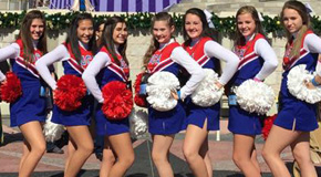 Ernest Ward, Northview Cheerleaders March In Disney Thanksgiving Parade