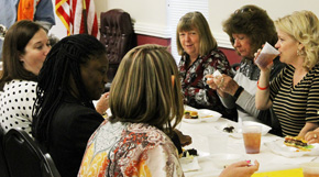Town of Century Employees Enjoy Thanksgiving Dinner