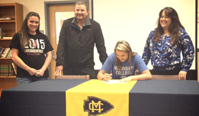 Volleyball: Tate's Jordan White Signs With Mississippi College