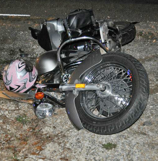 The Accident Happened About 730 Pm On Muscogee Road At McQueen Drive Just South Of Jacks Spring Two People From Motorcycle Were Transported By