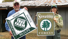 Byrneville Tree Farm Recognized