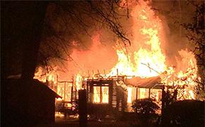 Fire Destroys Cedartown Road Home