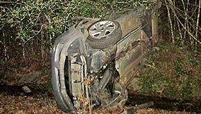 One Killed In Saturday Night Single Vehicle Crash