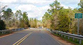 Barrineau Park Road Paved Into Alabama