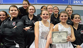 Tate Chaparrals Winter Guard Take First In Fairhope
