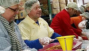 Manna, Rotary Clubs Team Up To Create Nearly 80,000 Meals For The Hungry