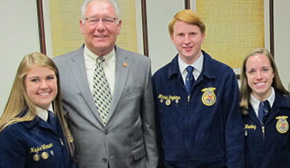 FFA Members Attend Ag On The Hill