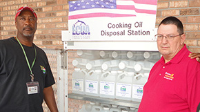 ECUA Opens Cantonment's First Residential Cooking Oil, Grease Disposal Station