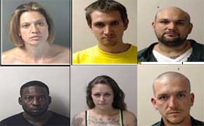 29 Arrested On Meth Warrants, 19 More Still Wanted