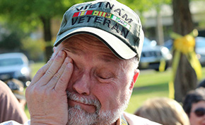Vietnam Veterans Get Emotional 'Welcome Home' (With Photo Gallery)