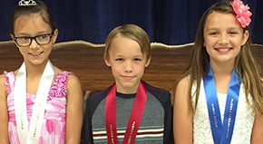 Jim Allen Elementary Students Take Part In 4-H Speech Contest