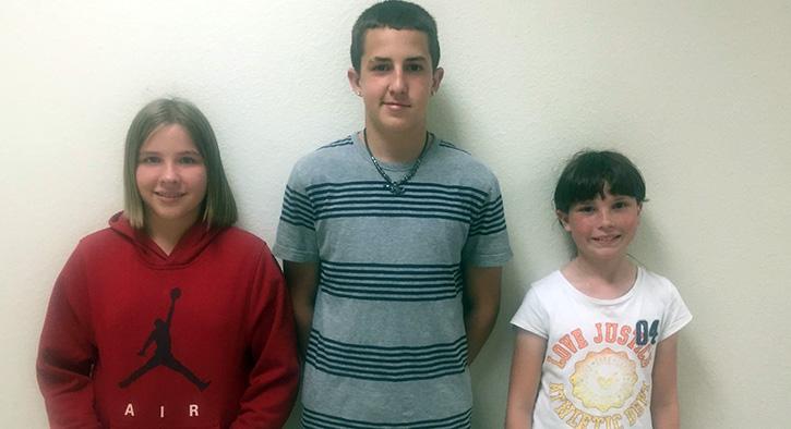 Three Molino Park Students Win Florida DEP Earth Day Poster Contest