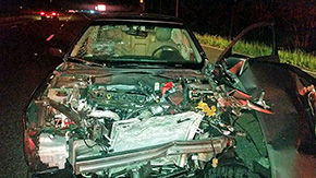 Two Injured In Highway 29, Barrineau Park Road Crash