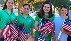 Barrineau Park 4-H, Other Groups Honor Those In Barrancas National Cemetary