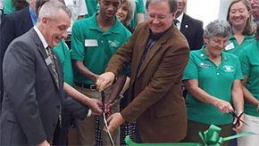 Dedication Ceremony Held At New Langley Bell 4-H Center