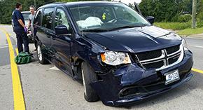 No Injuries In Century Crash