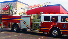 Roof Fire At Nine Mile Road Chili's Restaurant