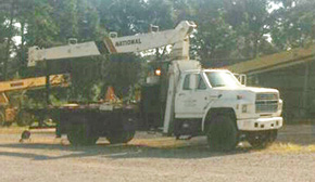 Flomaton Police Looking For Stolen Boom Truck