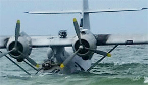 Seaplane Stuck During Nicholas Cage Film Shoot: Breaks Apart During Salvage