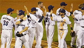 Blue Wahoos Win Tenth Straight Home Game
