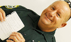 On A Happy Note: An Act Of Kindness For Deputy And His Family
