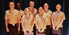 NJROTC Cadets Attend Leadership Training Camps