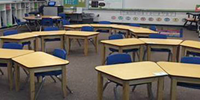 Prison's Cabinetry Program Provides Desks For Elementary School