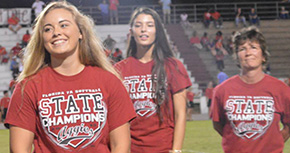 Put A Ring On It: Tate's State Champion Softball Team Receives Rings