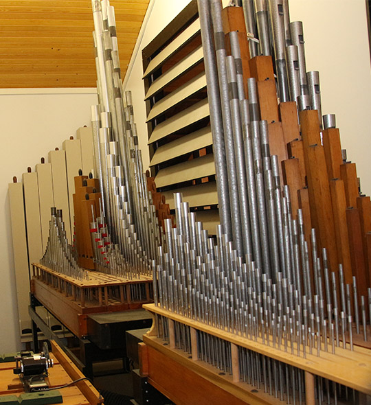 World Renowned Organist's Career Began At Molino Church