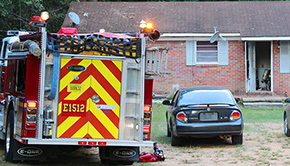One Evaluated For Smoke Inhalation After Minor Walnut Hill House Fire