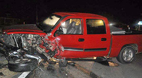 Two Injured In Early Morning Cantonment Wreck