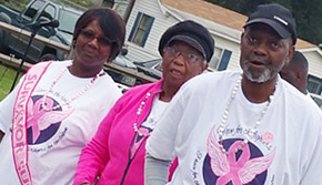 Breast Cancer Walk Held In Cantonment