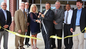 Grand Opening Held For New Ernest Ward Middle School