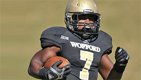 Tate Grad Racks Up Career High Game Rushing Yards For Wofford