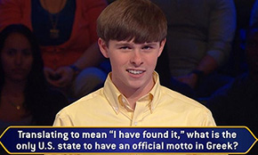 Tate High Graduate Appears On 'Who Wants To Be A Millionaire'