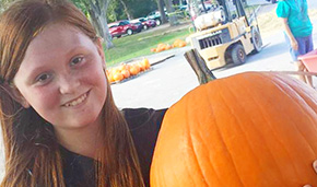 Pumpkins Arrive At Popular Church Pumpkin Patch