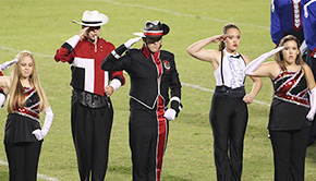 Local High School Bands Shine At Marching Performance Assessments