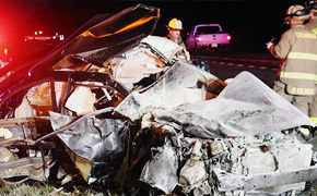 Shots Fired Disturbance Leads To Fiery Crash On Highway 29