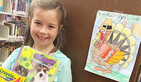 A Colorful Thanksgiving: Molino Library Coloring Contest