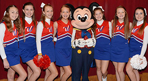 All Americans: Local Cheerleaders Take Part In Walt Disney Thanksgiving Parade