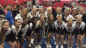 Tate High Varsity Cheerleaders Win Second Weekend Competition