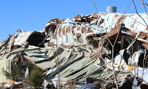 Century Tornado Two Years Later: County, Town Can't Afford To Clean Up Damaged Sawmill