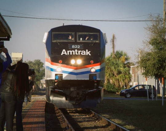 Amtrak Rolls Into Pensacola On Day Two Of Gulf Coast Tour ...